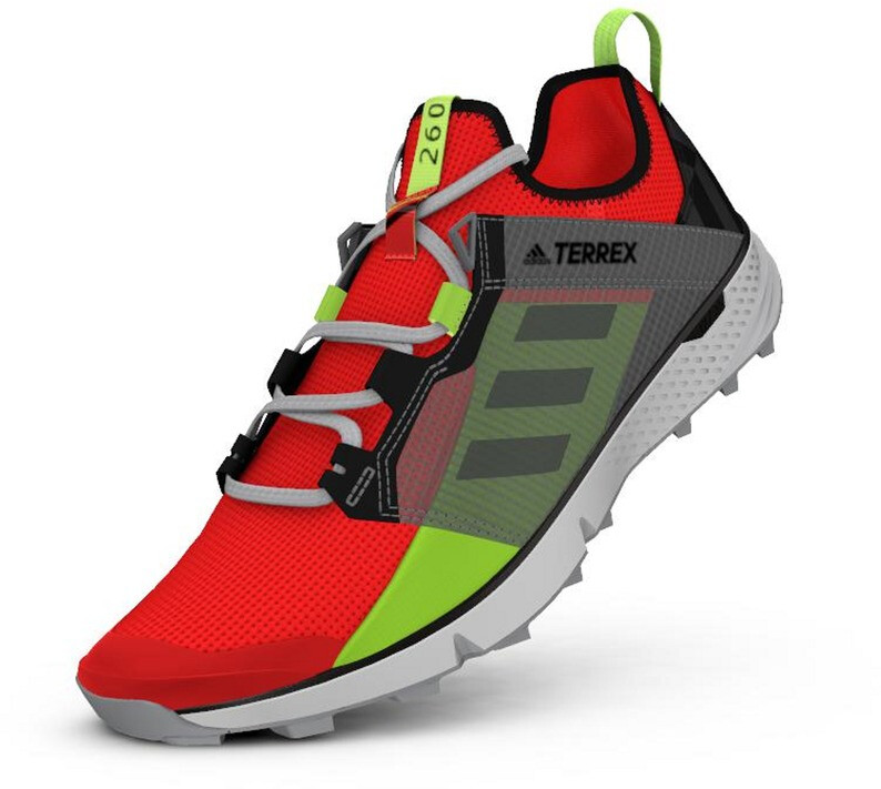 adidas TERREX Speed LD Løbesko Letvægts Herrer, solar redgrey threesignal green